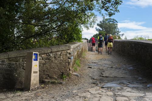 En pèlerinage, halte à Lauzerte