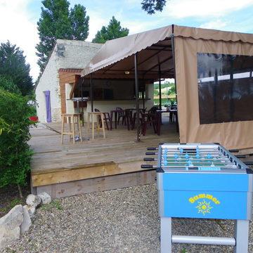 Camping 3 étoiles avec bar à Lauzerte