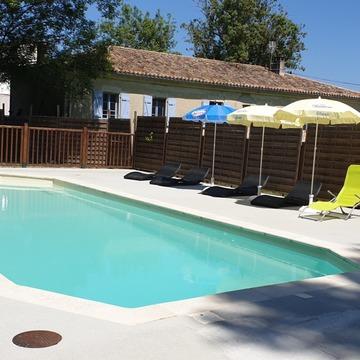 Camping 3 étoiles avec piscine à Lauzerte